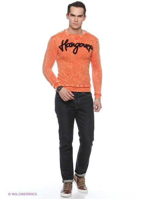 GiovedI | Мужские Оранжевые Джемперы
