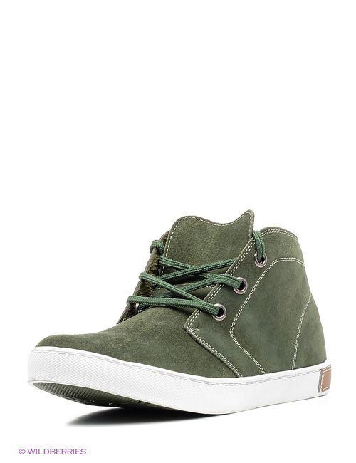 Marko | Мужские Зелёные Ботинки