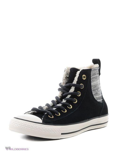 Converse | Мужские Чёрные Кеды
