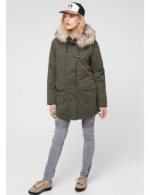 s.Oliver | Женское Зелёное Пальто