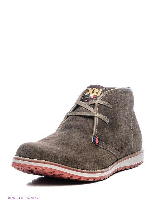 Xti | Мужские Бежевые Ботинки