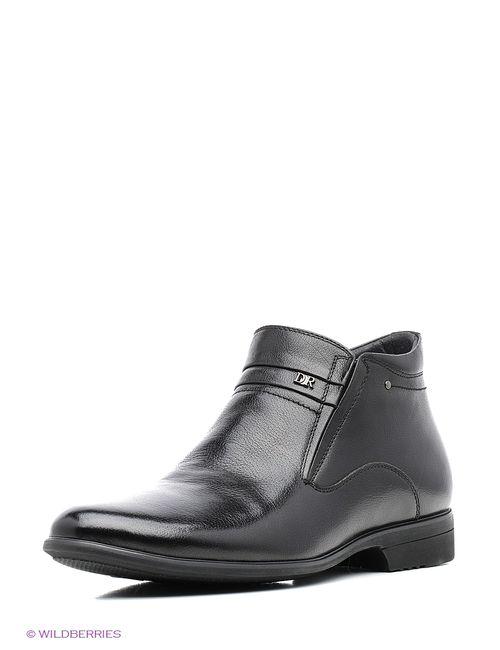Dino Ricci | Мужские Чёрные Ботинки