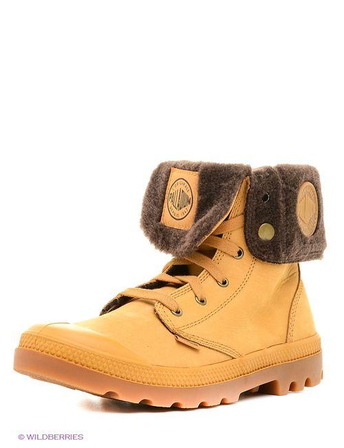 Palladium | Мужские Жёлтые Ботинки
