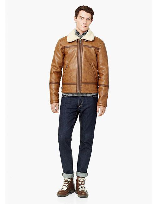 Mango Man | Мужские Коричневые Куртки