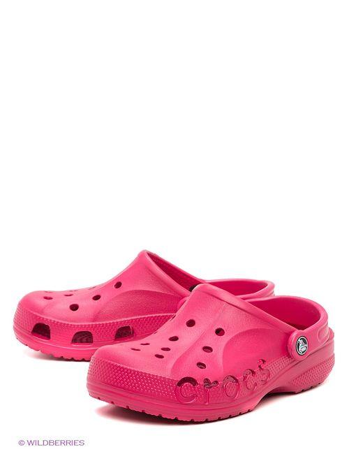 Crocs | Мужское Малиновое Сабо