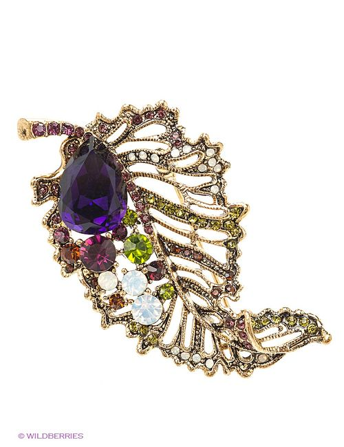 Lovely Jewelry | Женские Золотистые Броши