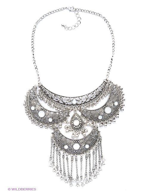 Lovely Jewelry   Женское Серебристое Колье