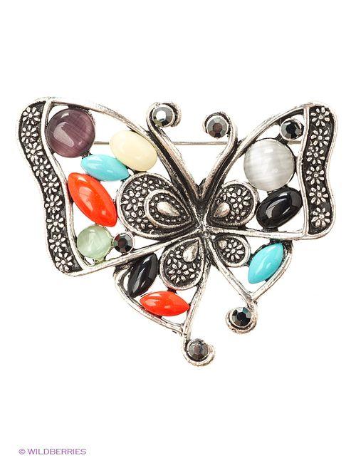 Lovely Jewelry   Женские Серебристые Броши