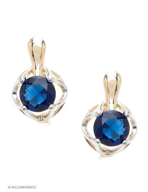 Lovely Jewelry | Женские Синие Серьги