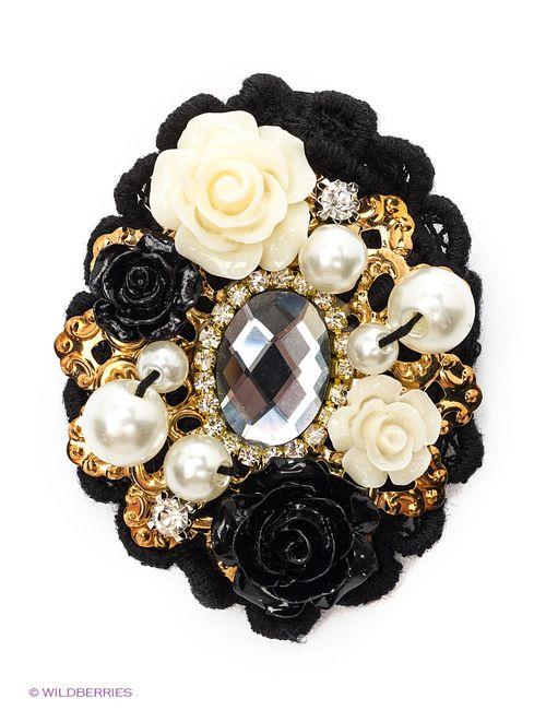 Lovely Jewelry | Женские Чёрные Броши