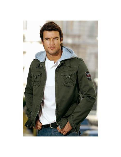 Neckermann | Мужские Оливковый (Осн.) Куртки
