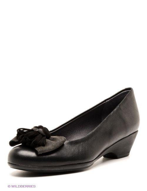 Pitillos | Женские Чёрные Туфли