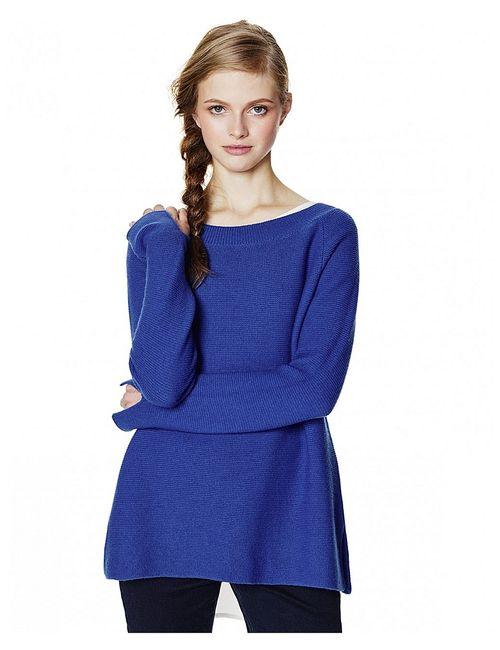 United Colors Of Benetton | Женские Синие Джемперы