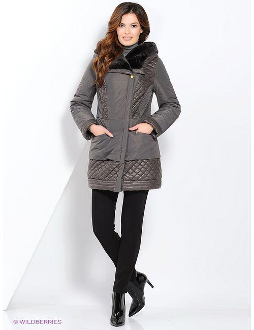 Electrastyle | Женское Серое Пальто