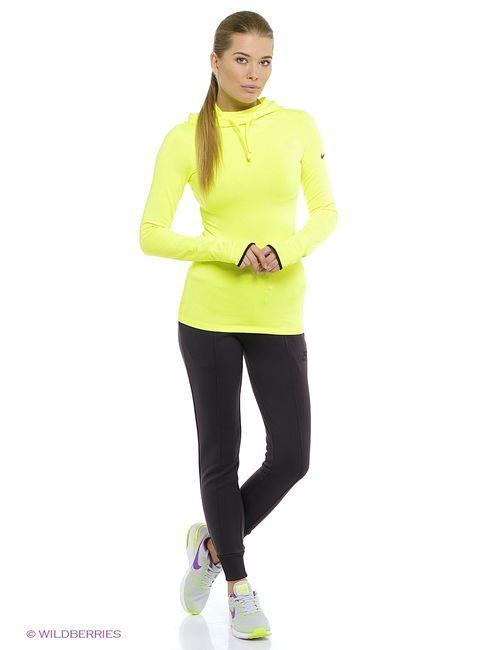 Nike   Женские Жёлтые Свитшоты