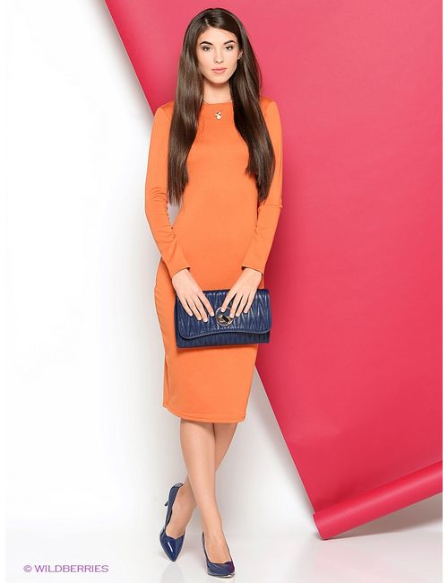Stets | Женские Оранжевые Платья