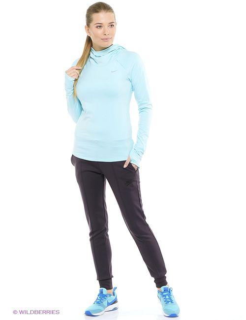 Nike | Женский Голубой Лонгслив