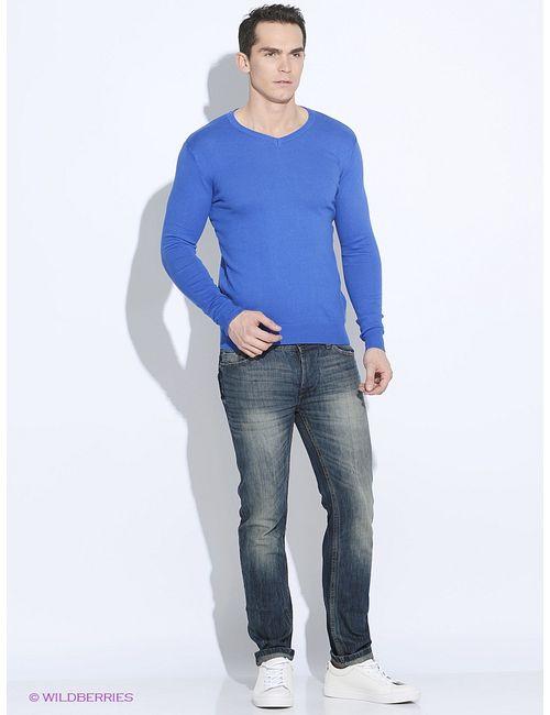 Oodji | Мужские Синие Пуловеры