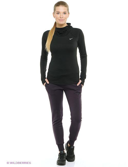 Nike | Женский Чёрный Лонгслив