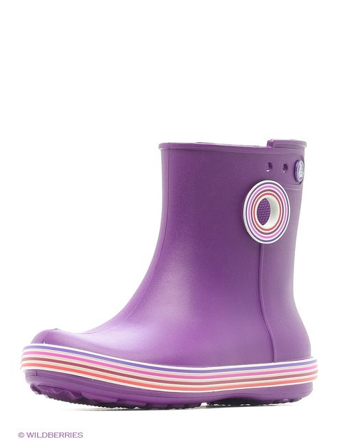 Crocs | Женские Фиолетовые Резиновые Сапоги