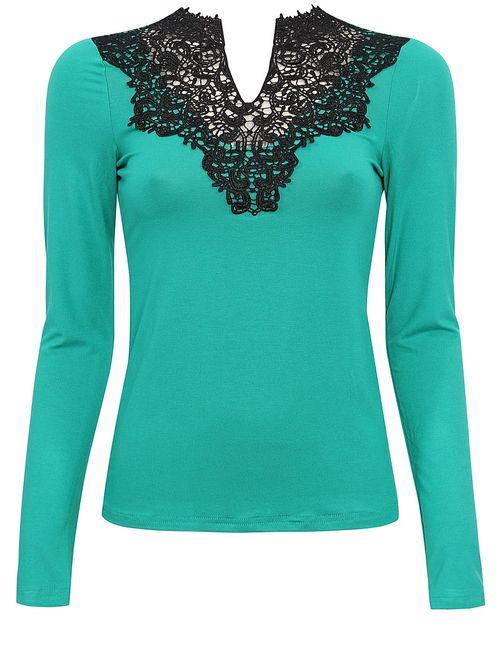 Oodji | Женские Зелёные Блузки