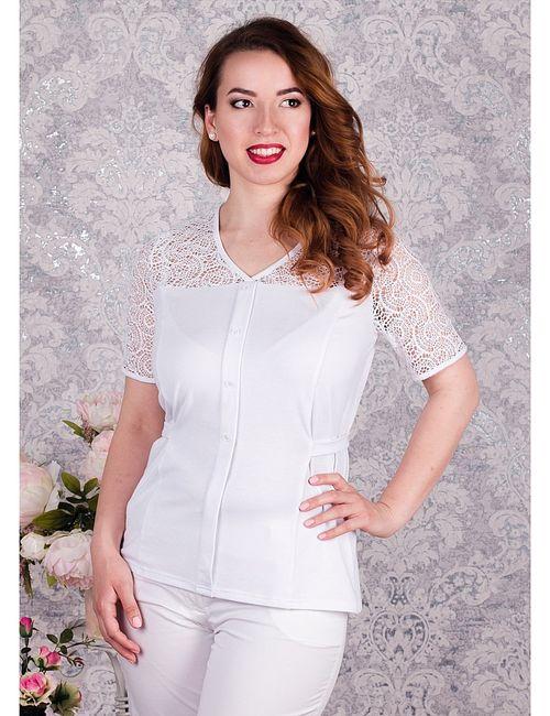 Царевна | Женские Белые Блузки