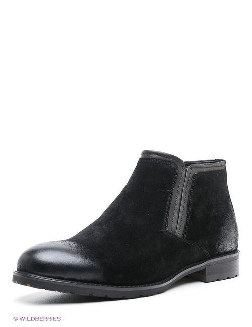 Premier. | Мужские Чёрные Ботинки