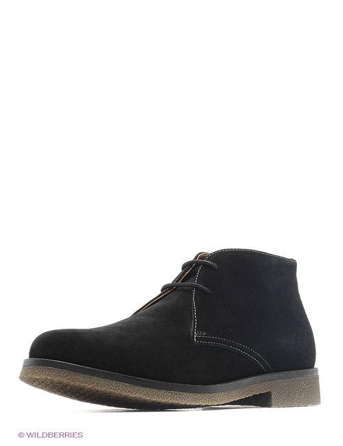 Geox | Мужские Чёрные Ботинки