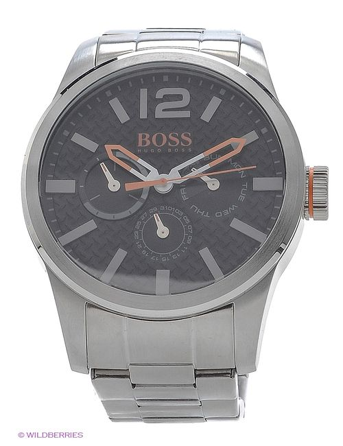 HUGO BOSS | Мужские Серебристые Часы