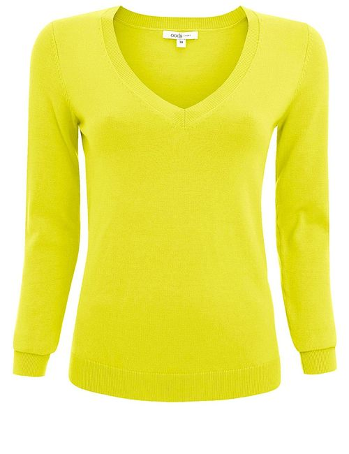 Oodji | Женские Зелёные Пуловеры