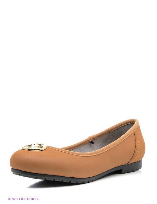 Crocs | Женские Коричневые Туфли