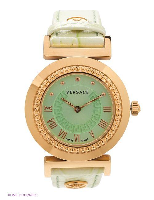Versace | Женские Зелёные Часы