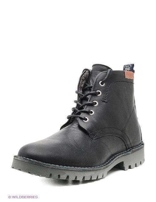 Wrangler | Мужские Чёрные Ботинки
