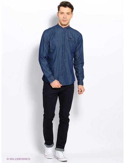 Top Secret | Мужские Синие Рубашки