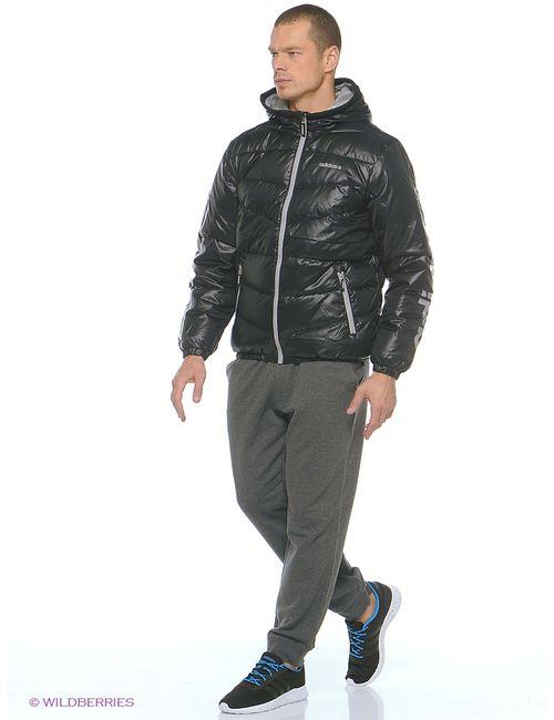 Adidas   Мужские Чёрные Пуховики