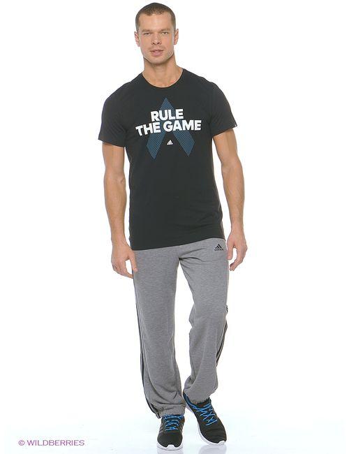 Adidas | Мужская Черный Футболка