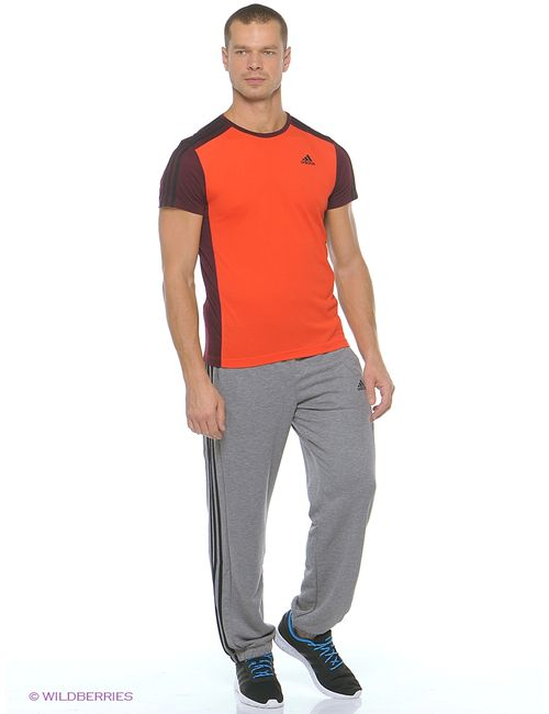 Adidas | Мужская Оранжевая Футболка