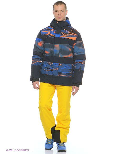 Quiksilver | Мужские Оранжевые Куртки