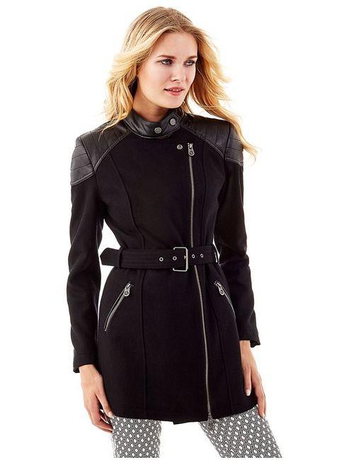 Guess   Женское Черный Пальто