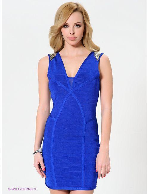 WOW Couture | Женские Синие Платья