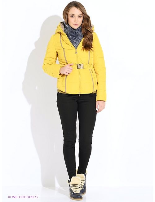 F'Mavis | Женские Горчичные Куртки