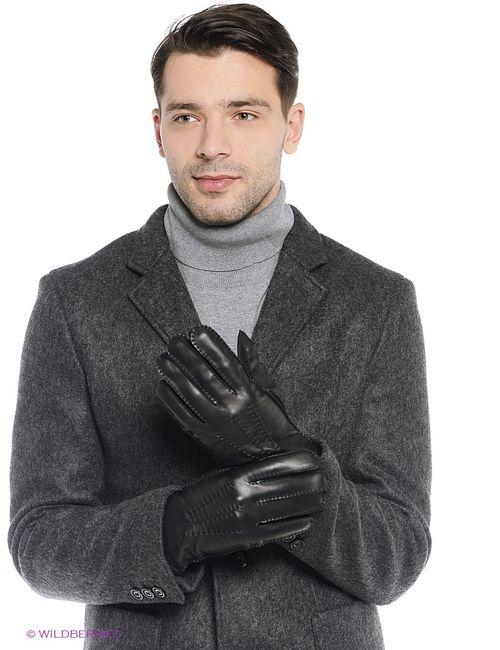 Vitacci | Мужские Чёрные Перчатки