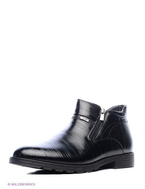 Daze | Мужские Чёрные Ботинки