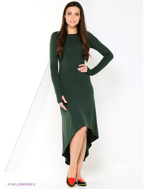 Mondigo | Женские Зелёные Платья