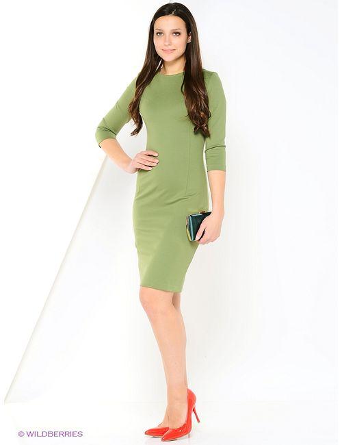 RUXARA | Женские Зелёные Платья