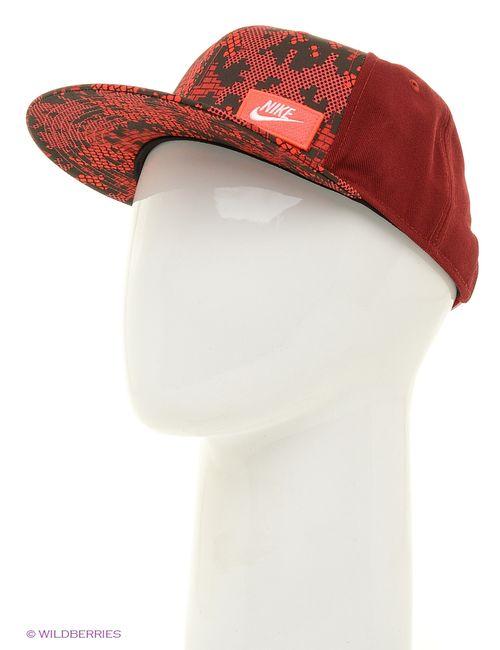 Nike | Женские Красные Бейсболки