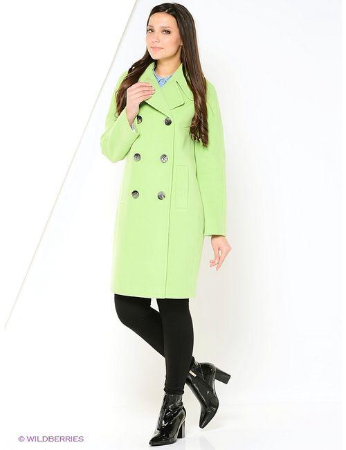 FORTUNA | Женское Зелёное Пальто