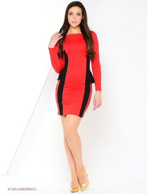 RUXARA | Женские Красные Платья