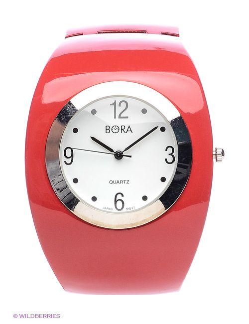 Bora   Женские Красные Часы