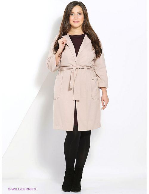 Femme | Женское Кремовое Пальто
